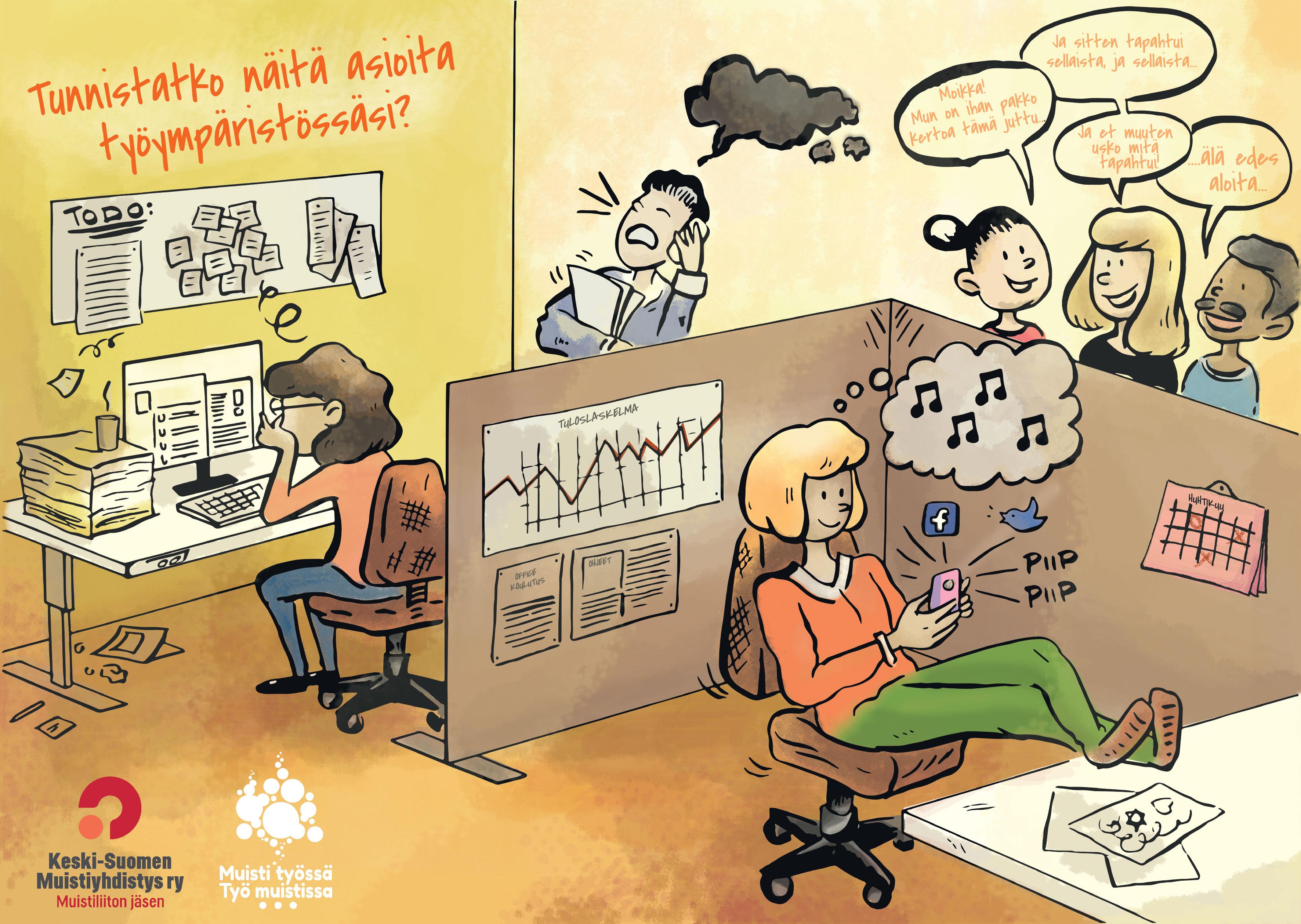 Tunnistatko näitä asioita työympäristössäsi?
